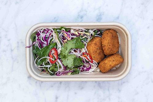 Falafels & Vietnamese Salad