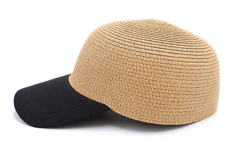 Surell Summer Straw Baseball Cap