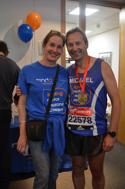 AT the MNDA reception