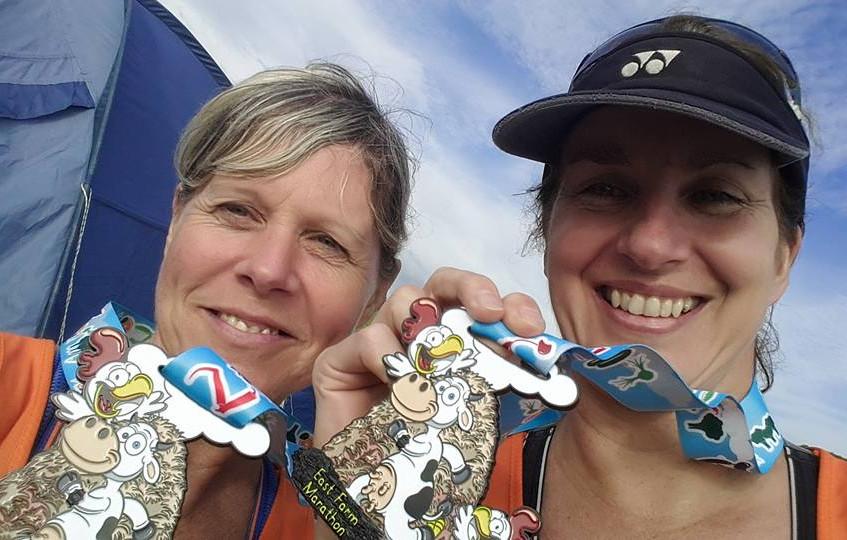Marathon complete - awesome medal