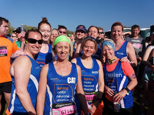 Brighton Marathon - hot, hot, hot!!