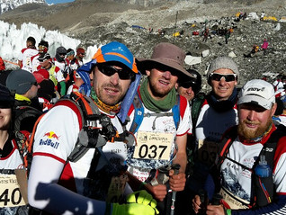 TheEverest marathon: Mike's perspective