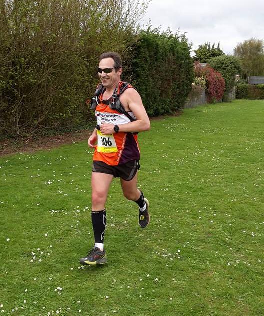 Finishing the Oakley 20 mile race