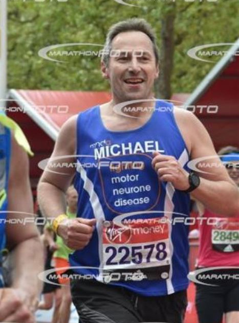 Finishing the London Marathon