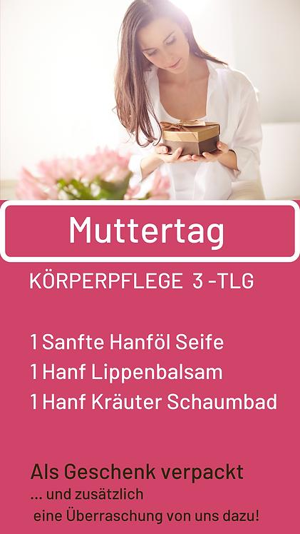 Muttertags-Package -  Körperpflege 3 teilig