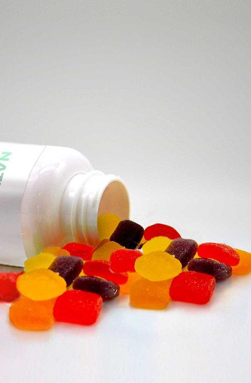 Vegane CBD Fruchtgummis 25 mg - 30 Stück Dose
