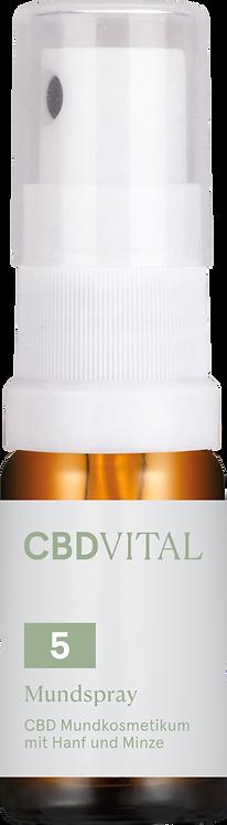 CBD Mundspray mit Hanf und Minze  5%   10ml