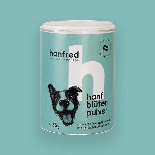 Hanfblüten für Hunde - gemahlen - 65 g Dose
