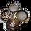 "Thumbnail: Grinder 4 teilig (60mm) Exclusiv ""Unser Kraut"""