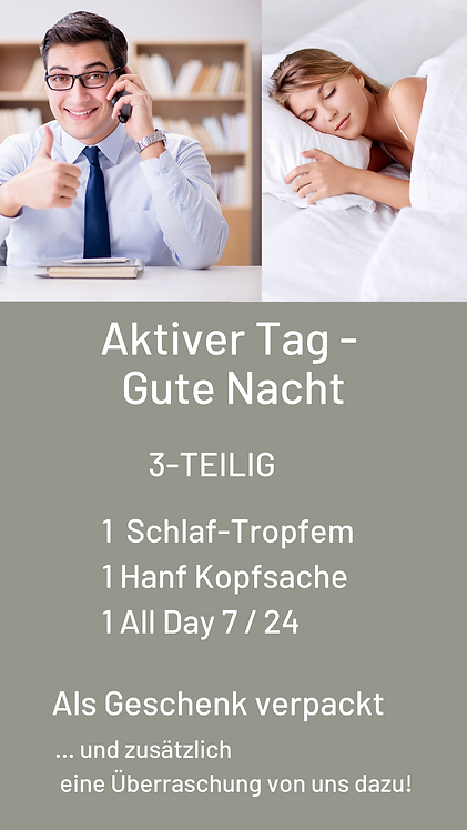 Package Aktiver Tag - Gute Nacht