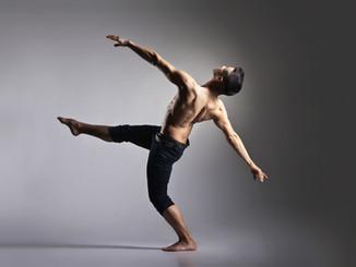 Dançarino de bailado moderno