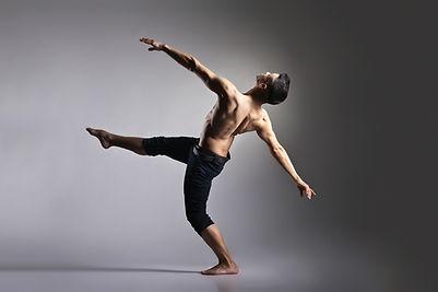 Bailarín de ballet moderno