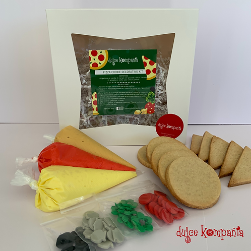 PIZZA COOKIE DECORATING KIT