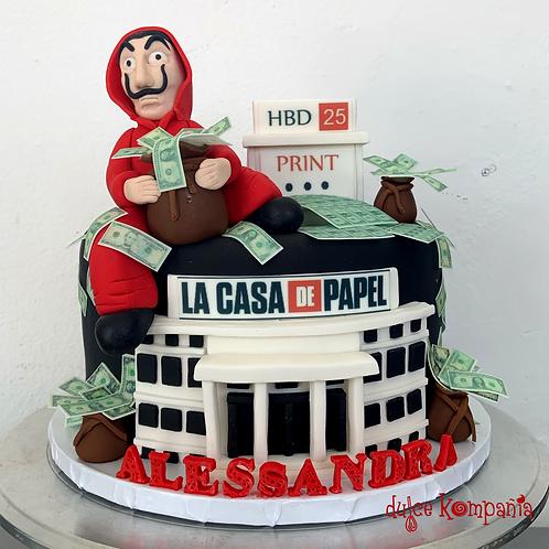 CASA DE PAPEL CAKE