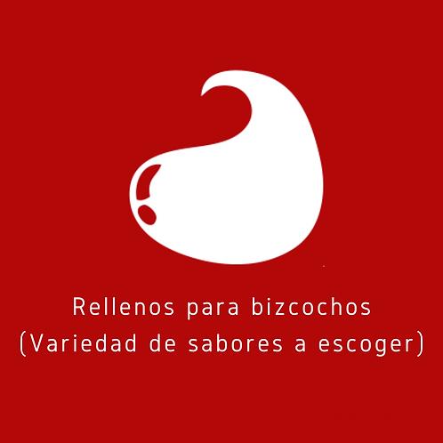 RELLENOS PARA BIZCOCHOS