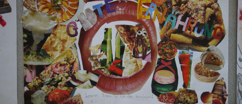 Poster zum Thema Ernährung