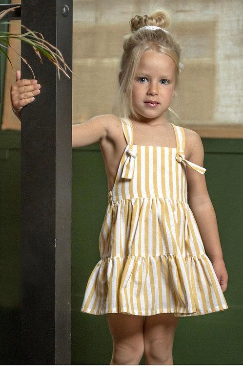 Cocote Yellow Stripe Dress