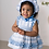 Thumbnail: Ricittos Baby Girl Stripe Three Piece