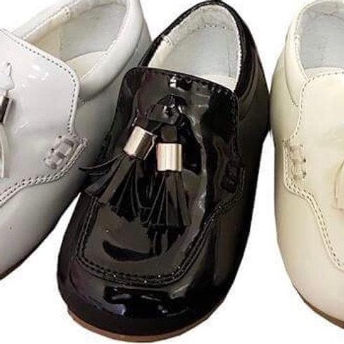 Jamie Black Loafer Shoe