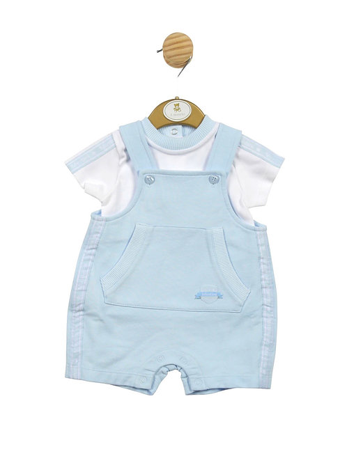Mintini Pocket Fromt Dungaree