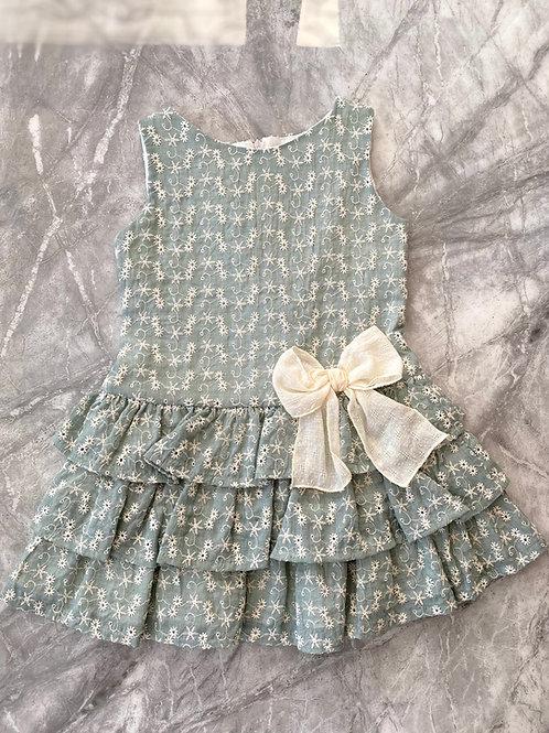 Alber Sage Drop Waist Dress