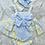 Thumbnail: DBB Blue and Yellow Stripe Dress