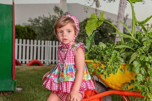 Babine Pink Floral Dress