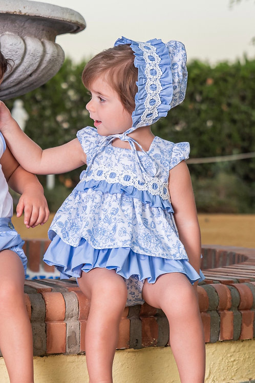 Babine Blue Floral Dress