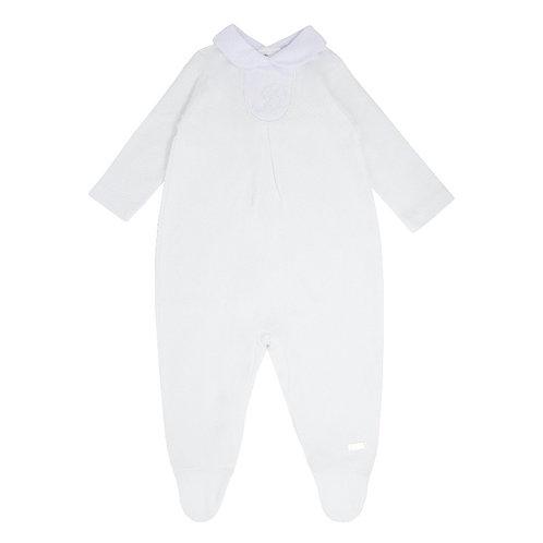 Blues Baby White Unisex Classic Sleepsuit