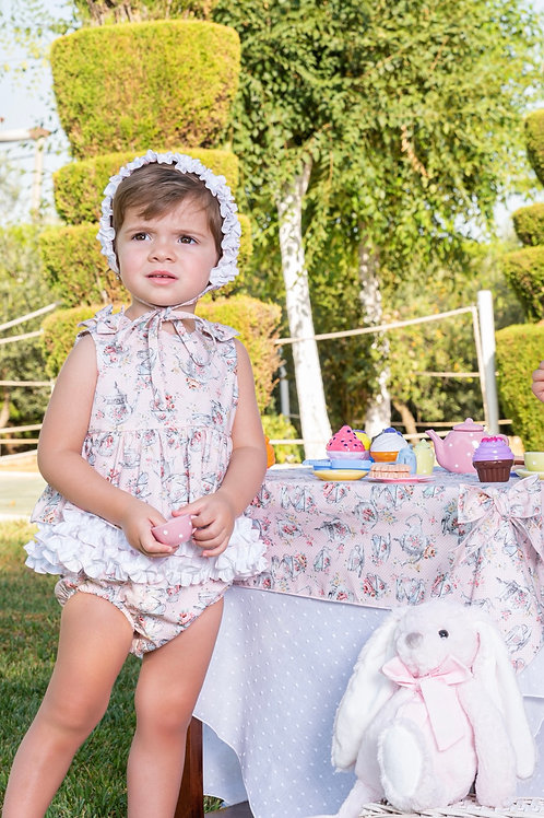 Babine Teacup Print Dress and Knickers