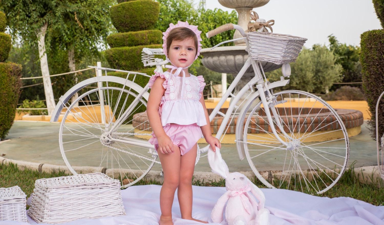 Babine pink knicker set