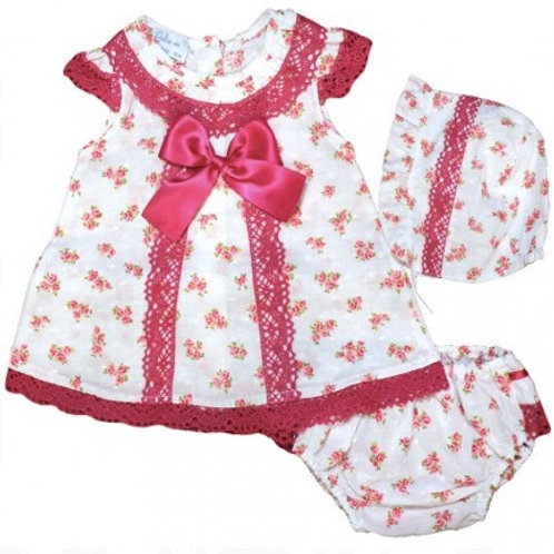 Baby Girl Spanish Three Piece Set
