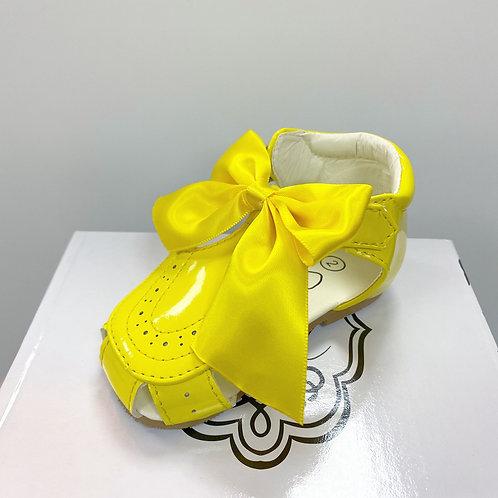 Terri Yellow Sandals