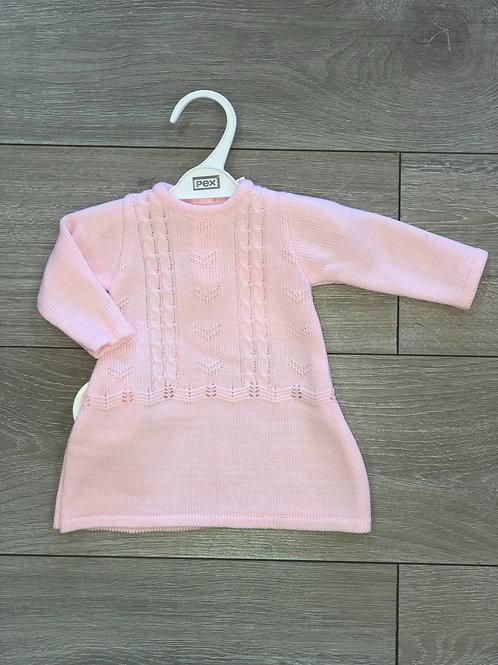 PEX Pink Knit Dress