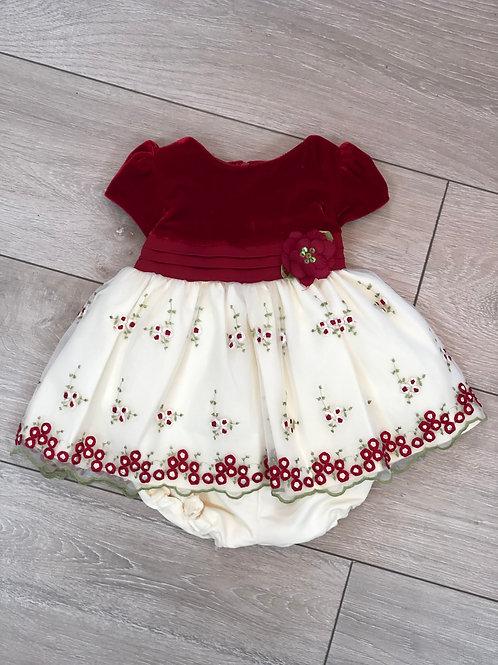Floral Occasional Dress & Pants