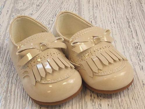 Beige Loafer Shoe