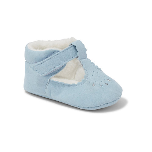 Soft Sole Blue Suede Shoes