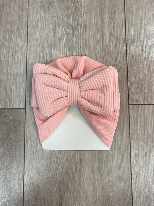 Pink Bow Front Hat