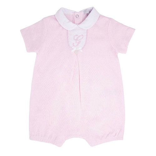 Blues Baby Classic Pink Romper