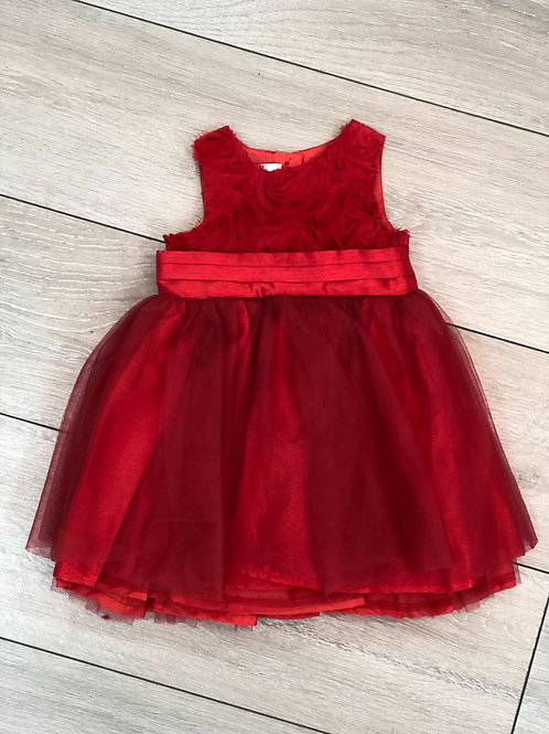 Red Occasional Dress