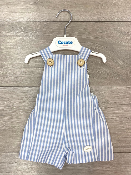 Cocote Stripe Dungarees