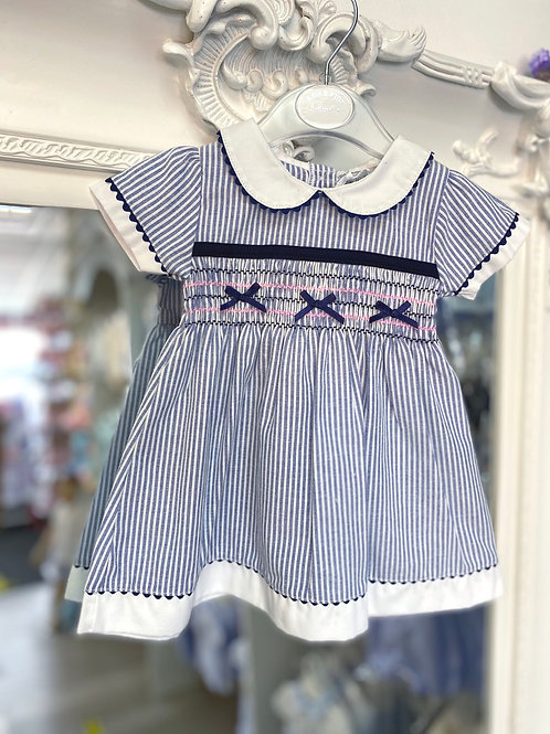 Kris X Kids Smock Stripe Dress