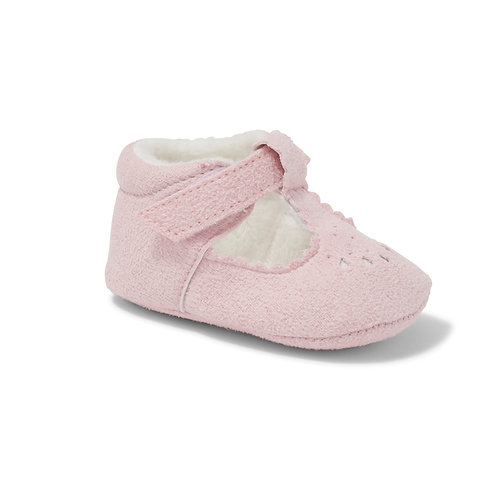 Soft Sole Pink Suede Shoes