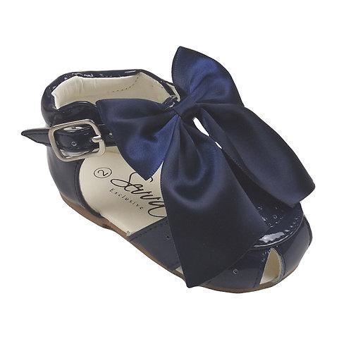 Navy Terri Sandals