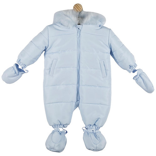 Mintini Blue Snowsuit