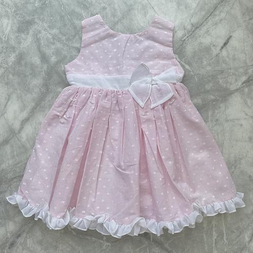 DBB Pink V Back Dress