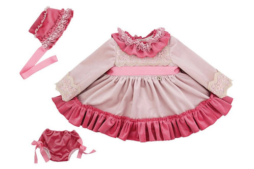 Ricittos Rosa Baby Girl Dress