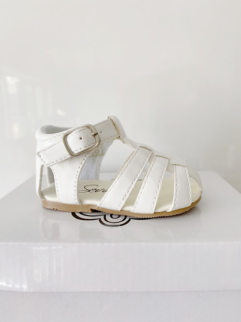 Larry White Sandals