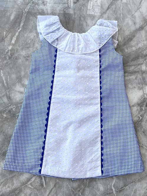 Alber V Back Dress