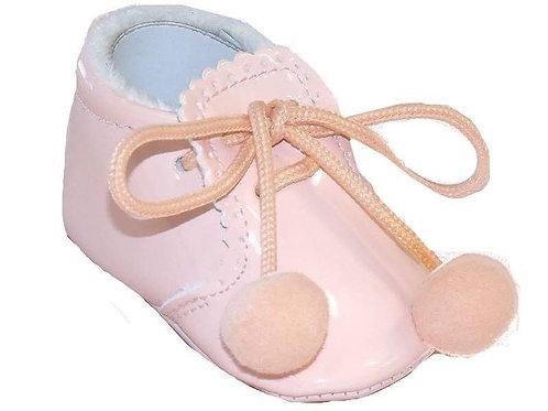 Joe Pink Pom Pom Shoe